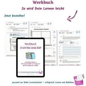 Werkbuch - effektive Lernstrategien für deine Lerntechnik